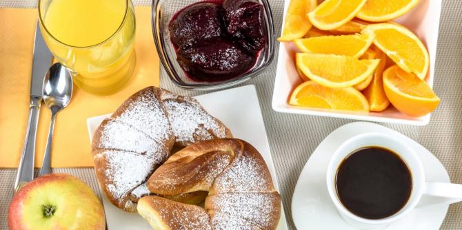 2 keer ontbijten per dag is gezond