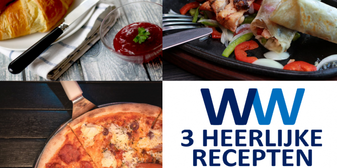 Ontdek deze 3 heerlijke ww recepten